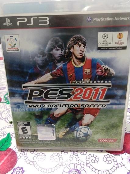 Pes 2011 Pro Evolution Soccer - Playstation 3 C/ Riscos