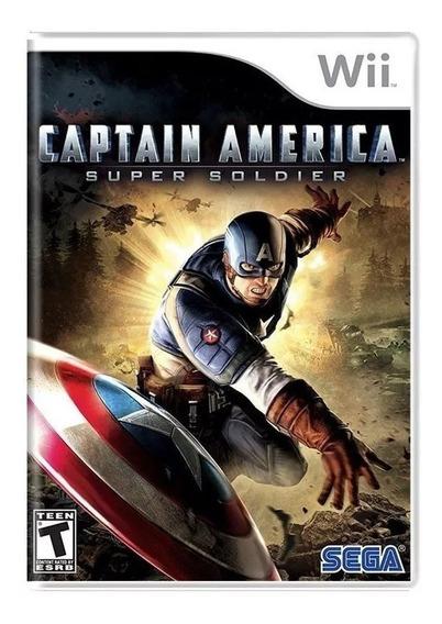 Captain America Super Soldier Da Sega Para Nintendo Wii