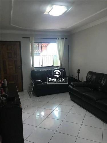 Sobrado Com 2 Dormitórios À Venda, 95 M² Por R$ 480.000,00 - Vila Valparaíso - Santo André/sp - So2437