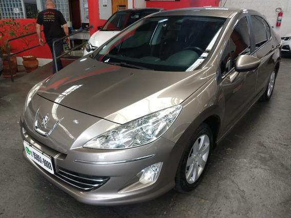 408 Sedan Allure 2.0 Flex Automatico 2012 Cinza Completo