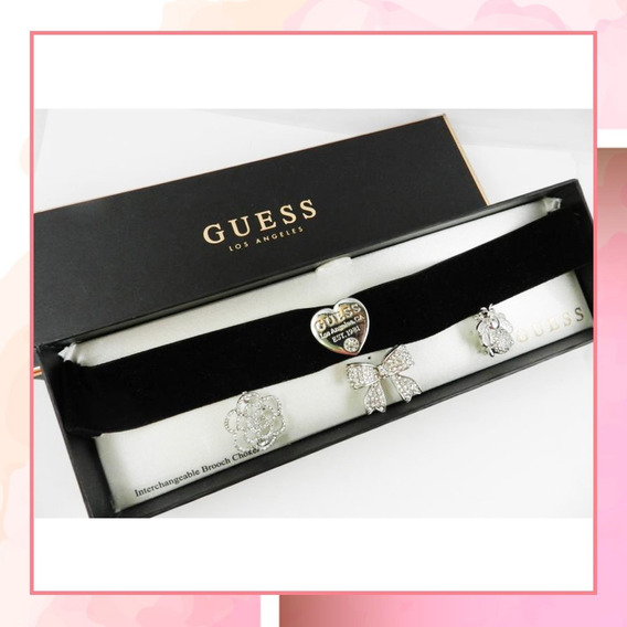 Collar Choker Guess Dije Intercambiable Super Precio
