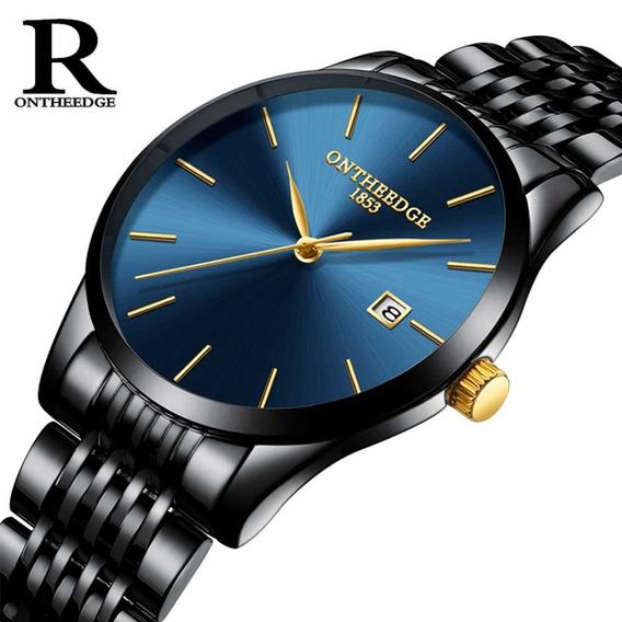 Relógio De Quartzo Com Pulseira De Aço Inoxidável Sortido