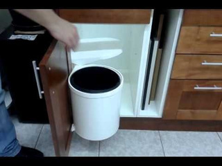 Basurero Giratorio Para Mueble De Cocina
