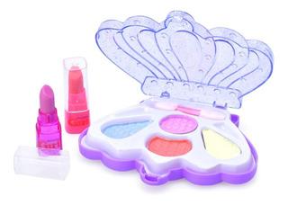 Set Maquillaje Infantil Nenas Pinturitas Dia Niño Niña
