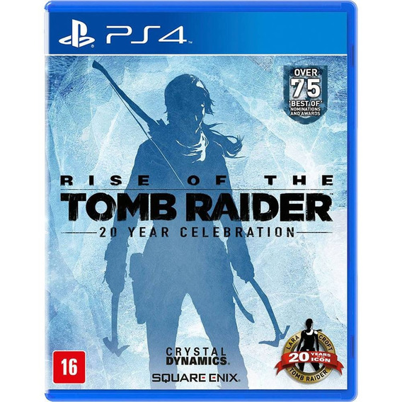 Rise Of The Tomb Raider Ps4 Midia Fisica Novo Lacrado