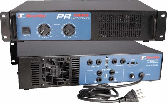 Amplificador Potência New Vox Pa 900 - 450w Rms