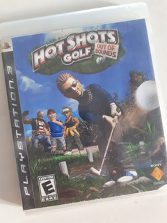 Hot Shots Golf Out Of Bound Playstation 3 Fisico Tomo Juegos