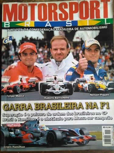 Revista Motorsport G P Brasil F1 2008