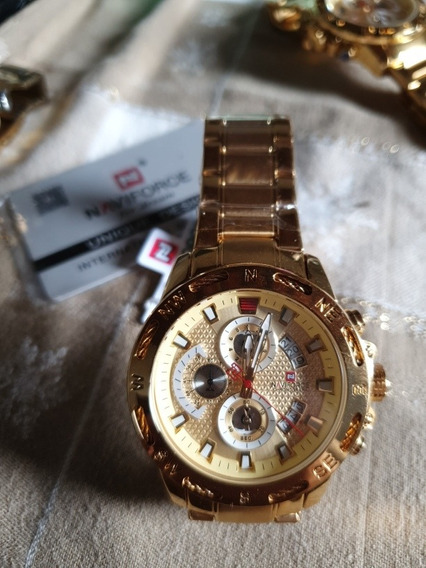 Relógio Masculino Naviforce 100% Original