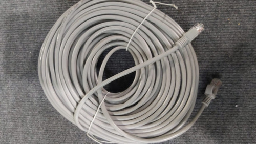 Cable De Red Patchcord Utp Categoria 5e Rj-45 30 Mts