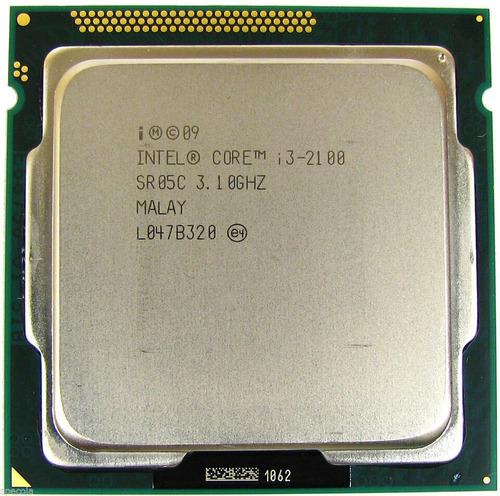 Imagem 1 de 8 de Core I3 2100 Lga 1155 3.10 Ghz 3mb Cache Oem Com Garantia