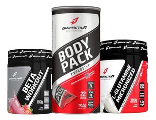 Combo Beta + L-glutamina + Body Pack - Body Action