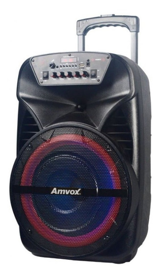 Caixa Amplificada Aca280 Black Usb/sd/bt Amvox