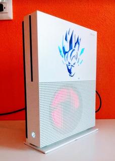 Xbox One S 1tb Personalizada Goku Luz Hiperled En Caja