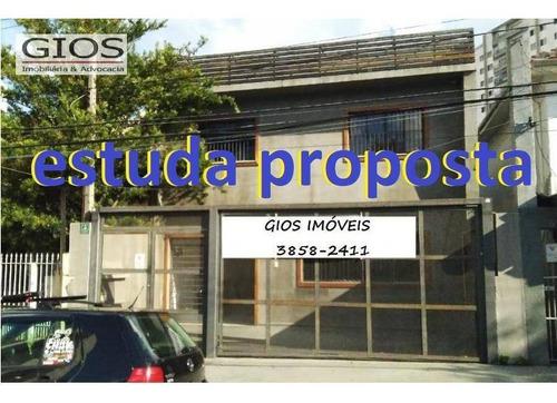 Imagem 1 de 30 de Prédio, 500 M² - Venda Por R$ 3.500.000,00 Ou Aluguel Por R$ 14.000,00/mês - Água Branca - São Paulo/sp - Pr0030