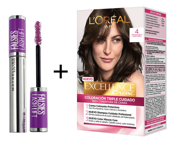 Combo Maybelline + Excellence #mequedoencasa N°1