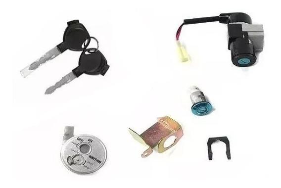 Chave Ignição C/ Sensor Biz 125 Ks/es 2005 Á 2010 Kit 3 Pçs