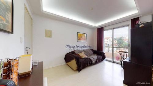 Imagem 1 de 13 de Apartamento Com 3 Dormitórios À Venda, 60 M² Por R$ 305.000,00 - Imirim - São Paulo/sp - Ap0734
