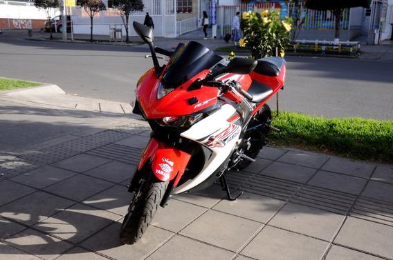 Yamaha Yzf R3 - Roja Blanco