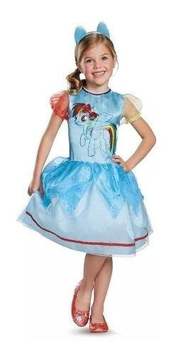 Imagen 1 de 6 de Disfraz Vestido Princesa  My Little Pony !!
