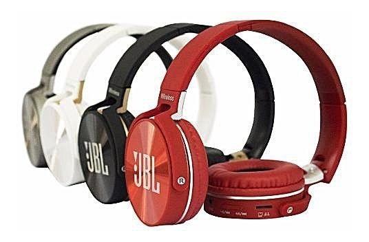 Fone De Ouvido Bluetooth Jbl950bt Sem Fio Cartão Sd E Rádio