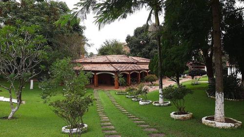 Chácara Com 6 Dormitórios À Venda, 6000 M² - Jardim Portal Itavuvu - Sorocaba/sp - Ch0458