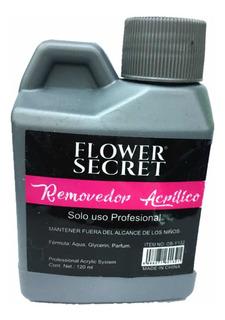 Removedor Quitar Esmalte Permanente Gel De 120ml Flower