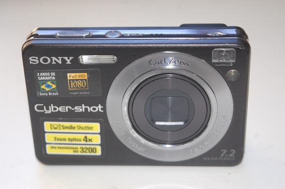 Câmera Sony Cyber-shot Dsc-w110 7.2 Megapixels Usada