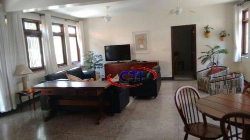 Sobrado Com 4 Dormitórios À Venda, 400 M² Por R$ 1.150.000 - Vila Mortari - Ribeirão Pires/sp - So0540