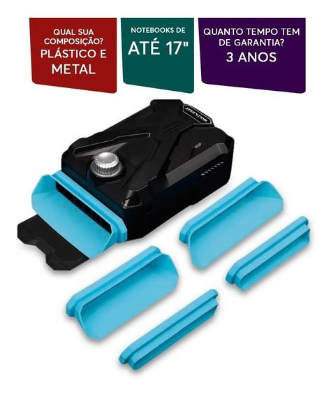Warrior Gamer Cooler Extractor Para Notebook Ac268