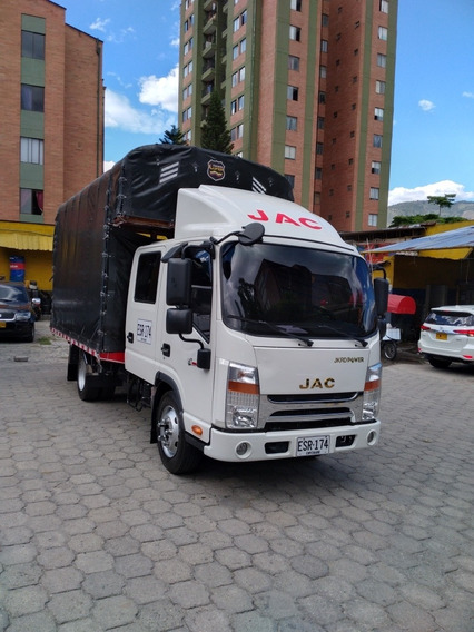 Camion Doble Cabina Jac