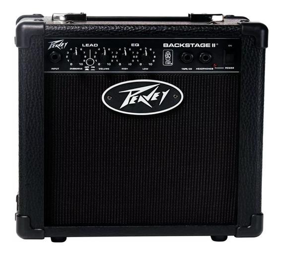 Amplificador Para Guitarra Peavey Backstage 10 W