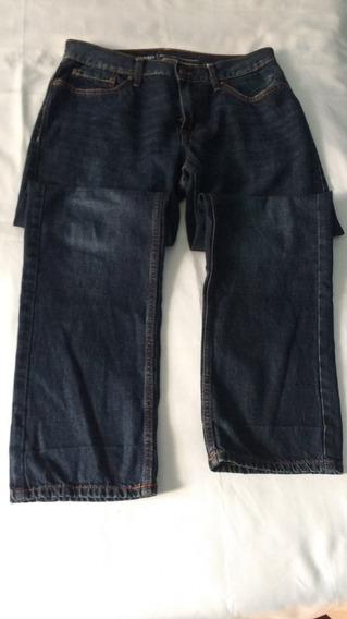 Calca Jeans Old Navy Original Imp. Azul Inf. Tam. 14 Usada