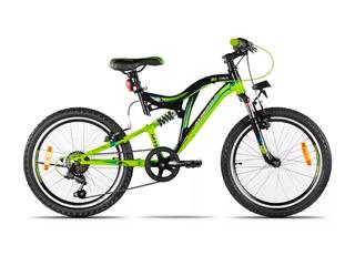 Bicicleta Aurora Dsx Rodado 20 Doble Suspensión Shimano *