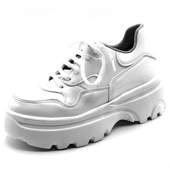 Zapatillas Mujer Sneakers Blancas Urbanas Balenciaga Moda In