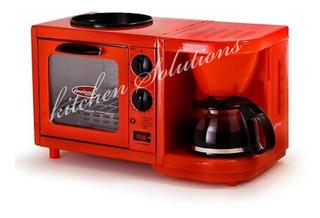 Horno Con Cafetera Para Desayuno Vintage