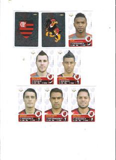 Campeonato Brasileiro 2013 - Time Flamengo Completo - 6 Reai