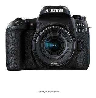 Canon 77d + Lente 18-55mm, Buen Precio