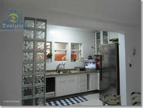 Sobrado Com 2 Dormitórios À Venda, 134 M² Por R$ 500.000,00 - Parque Das Nações - Santo André/sp - So0719