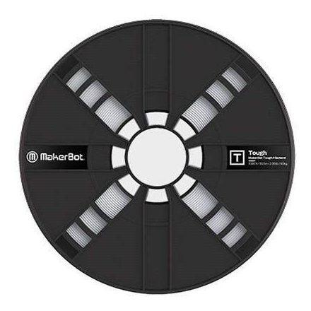 Filamento Makerbot Tough Pla Large Spool Stone White (375-0