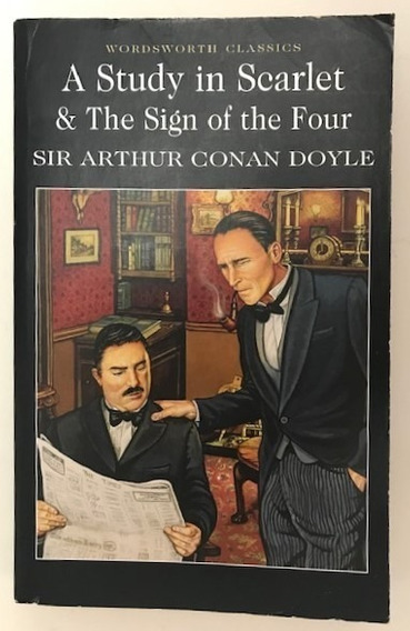 Sherlock Holmes Study In Scarlet -the Sign Of The Four