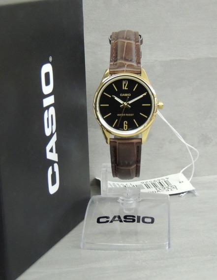 Relógio Casio Feminino Ltp-v005gl-1budf - Lançamento - Nf