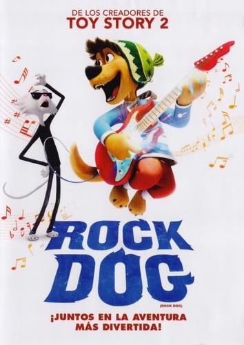 Imagen 1 de 3 de Rock Dog Juntos En La Aventura Mas Divertida Pelicula Dvd