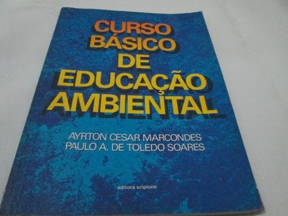Livro Educação Ambiental Ayrton Marcondes Usado R.664