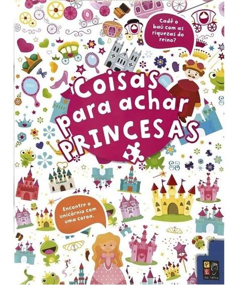 Livro Coisas Para Achar - Princesas