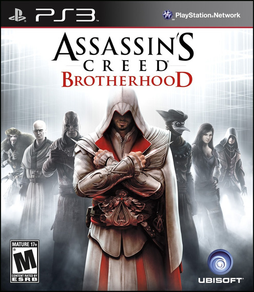 Assassins Creed Brotherhood Psn Ps3