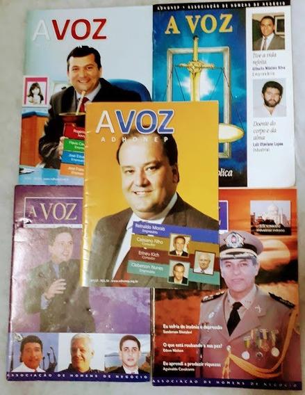 Revista Voz Da Adhonep Homens De Negócio Do Evangelho Pleno