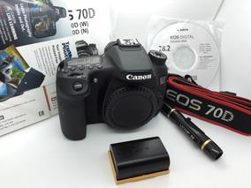 Canon Eos 70d - Somente Corpo