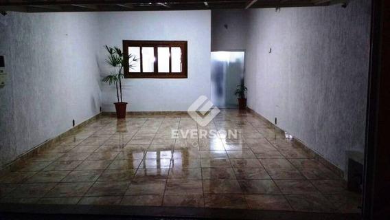 Casa Residencial À Venda, Parque Mãe Preta, Rio Claro. - Ca0782
