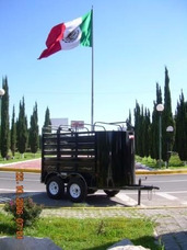 Remolque P/2 Caballos Jaula,ganadero,borregos